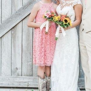 Girl's dress by David's Bridal